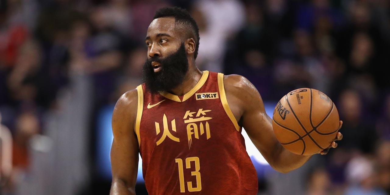 جیمز هاردن لیگ بسکتبال NBA