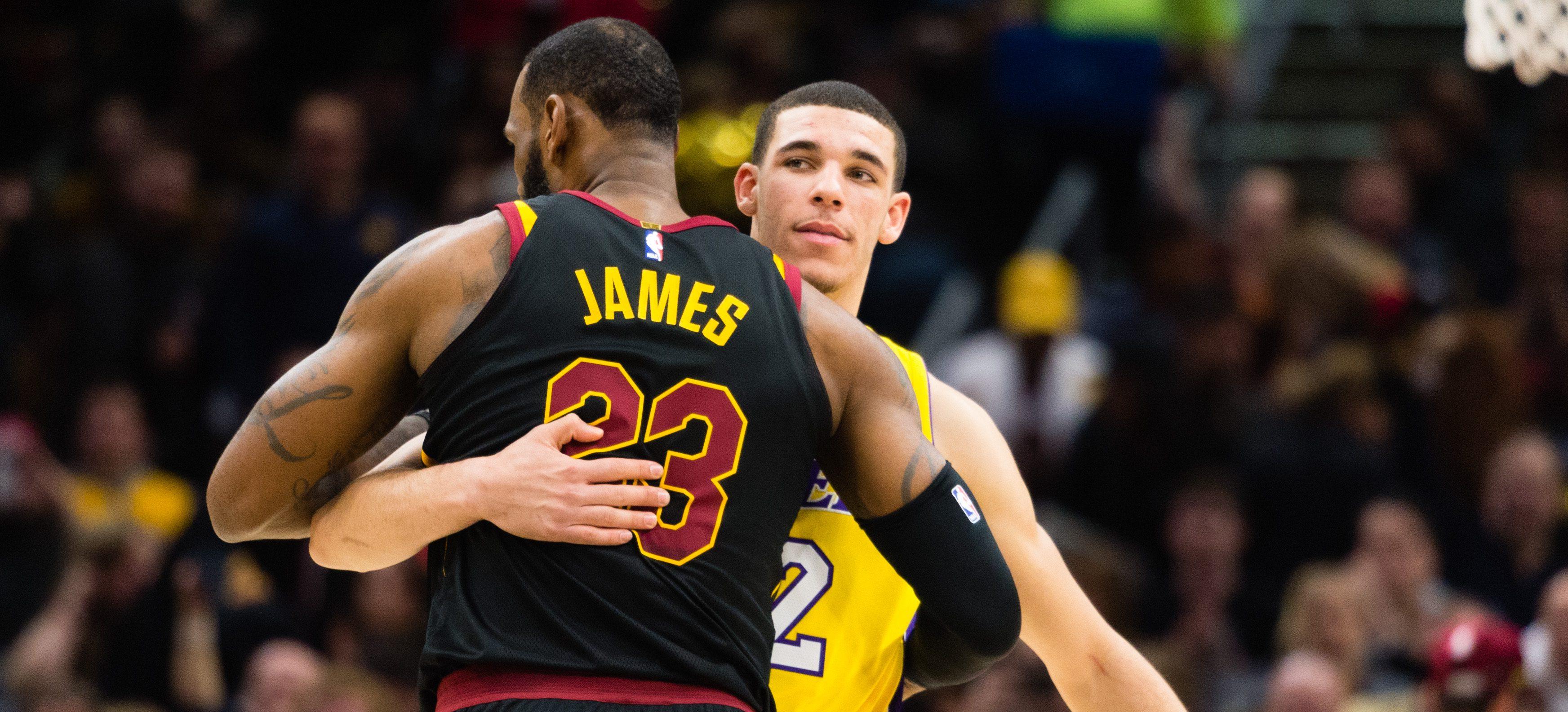 لیگ بسکتبال NBA لونزو بال