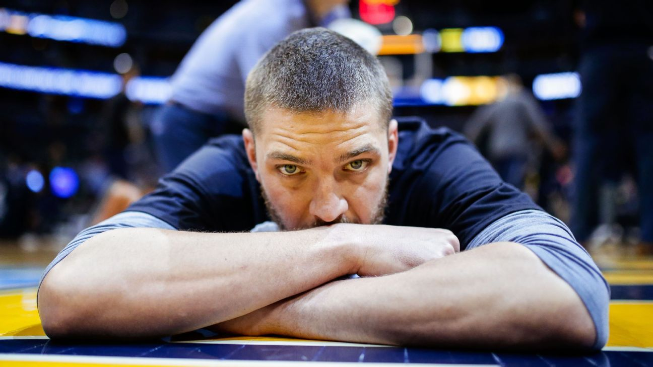 لیگ بسکتبال NBA چندلر پارسونز ممفیس