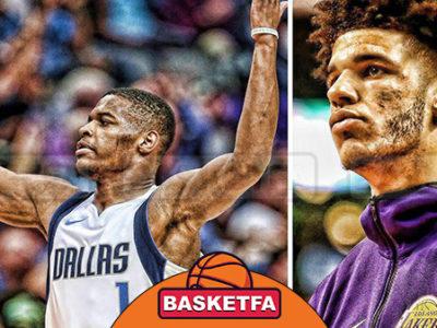 لیگ بسکتبال NBA لونزو بال دنیس اسمیت
