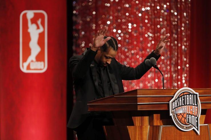 آلن ایورسون لیگ بسکتبال NBA