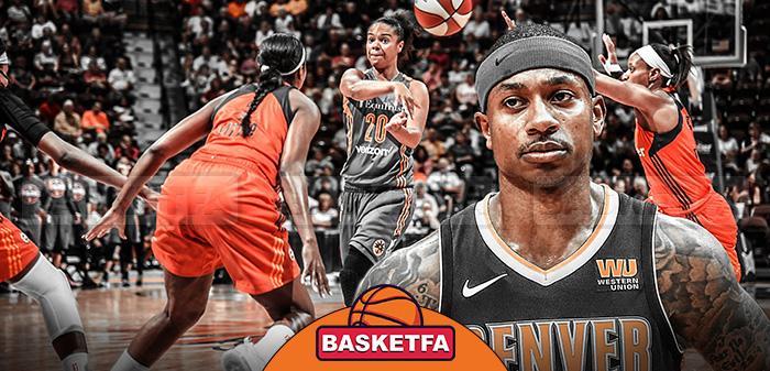 آیزایاه توماس لیگ بسکتبال بانوان WNBA