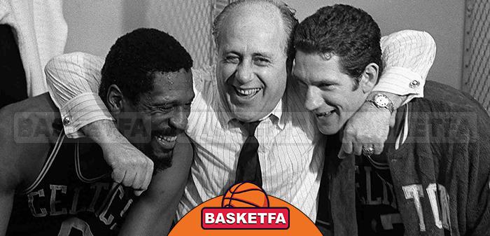 رد آورباخ و بیل راسل تیم بسکتبال