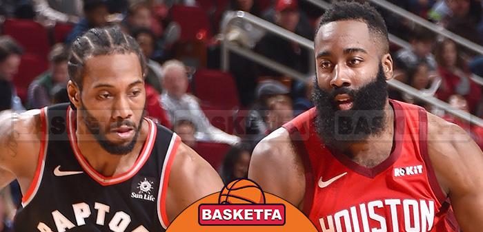 لنارد و هاردن لیگ بسکتبال NBA