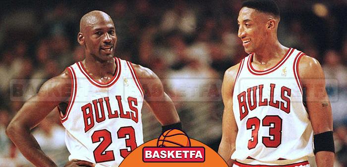 مایکل جوردن ستارگان بسکتبال NBA