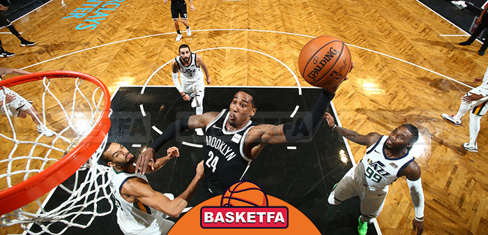 بروکلین نتس یوتا جاز لیگ بسکتبال NBA