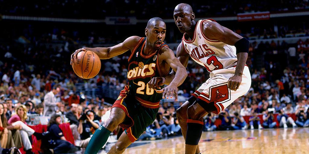 لیگ بسکتبال NBA گری پیتون
