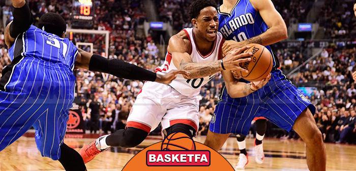 تورنتو رپترز اورلندو مجیک لیگ بسکتبال NBA