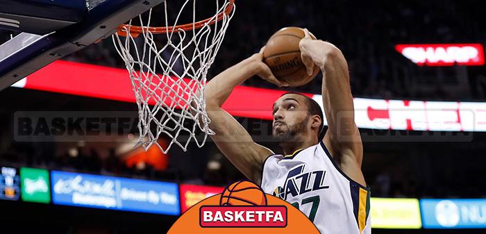 رادی گوبرت بسکتبال NBA