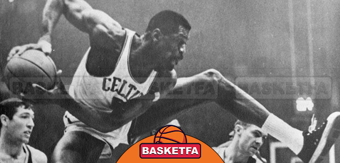 برترین ریباندکنندگان تاریخ NBA بیل راسل