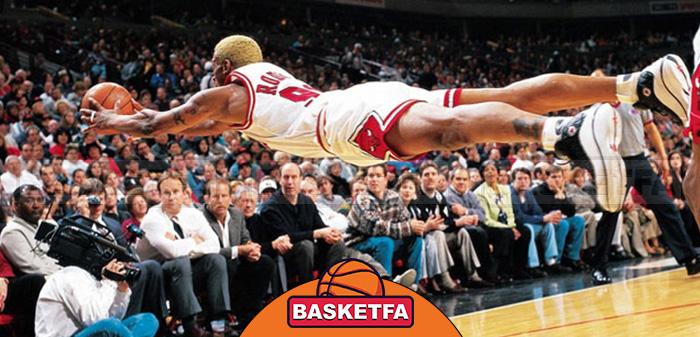 برترین ریباندکنندگان تاریخ NBA دنیس رادمن