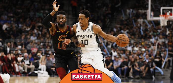 کاوالیرز اسپرز لیگ بسکتبال NBA