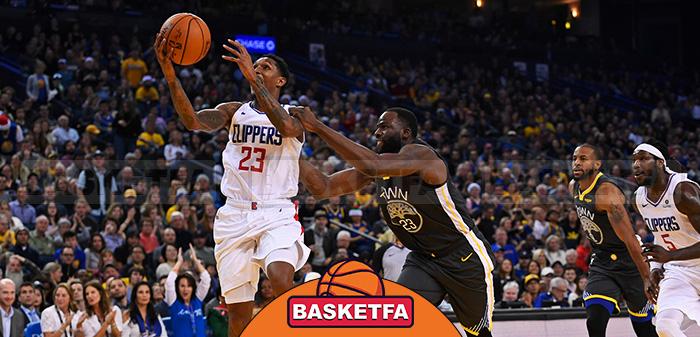 واریرز کلیپرز لیگ بسکتبال NBA