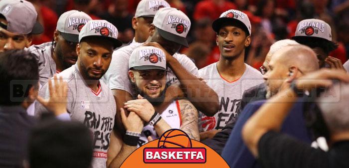 قهرمانی تورنتو رپترز بربر میلواکی باکس در فینال کنفرانس شرق NBA
