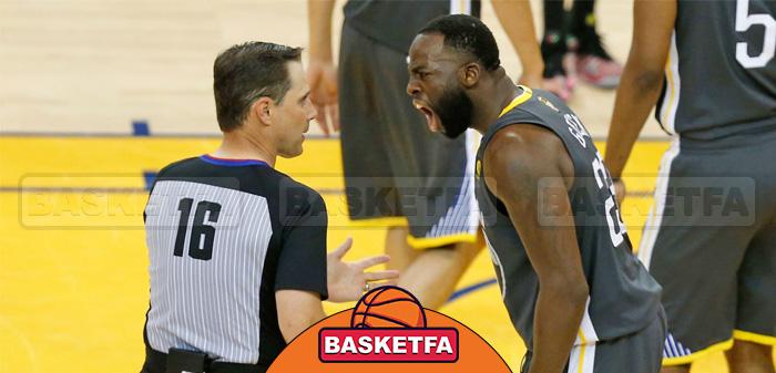 عدم اجازه به بازیکنان برای برخورد خشونت آمیز با داوران بسکتبال