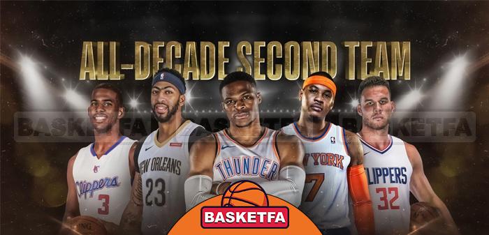 تیم دوم دهه NBA