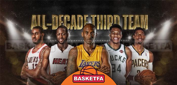 تیم سوم دهه NBA