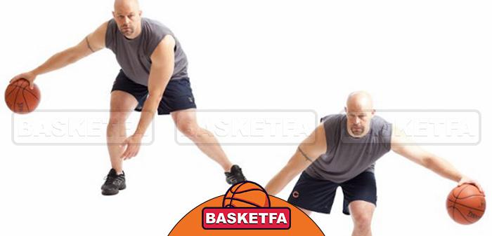 تمرین دریبل بسکتبال
