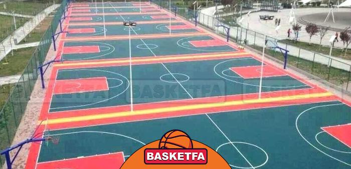 زمینهای بسکتبال