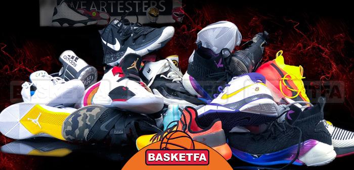 کفش مناسب برای شروع بسکتبال