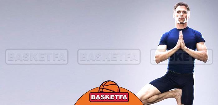 یوگا برای بازیکن بسکتبال