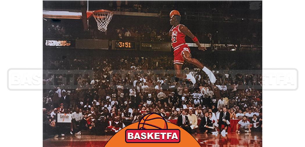 مایکل جردن دومین بازیکن برتر بسکتبال تاریخ