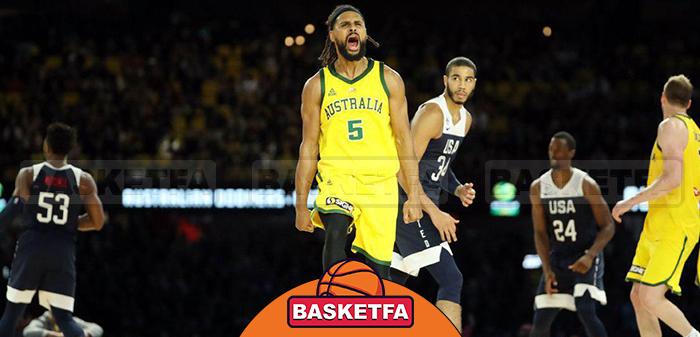 تیم ملی بسکتبال استرالیا