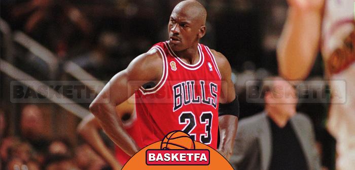 مایکل جردن- نفر اول لیست بزرگترین ستارگان بسکتبال