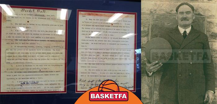 اختراع بسکتبال بر پایه 13 قانون اولیه