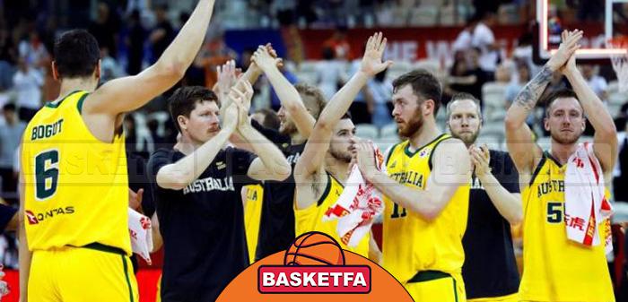 جام جهانی بسکتبال چین استرالیا