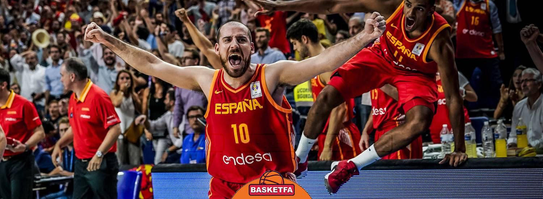 تیم ملی بسکتبال اسپانیا-جشن قهرمانی