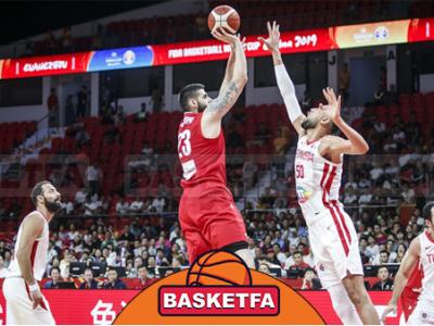 جام جهانی بسکتبال چین-تیم ملی بسکتبال ایران-تیم ملی بسکتبال تونس