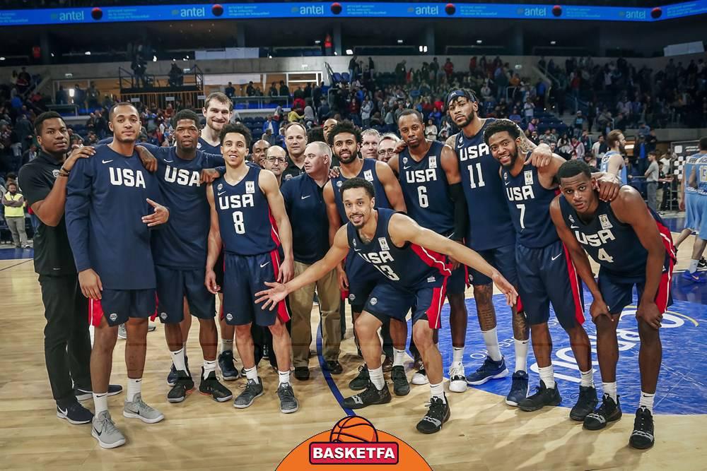 جام جهانی بسکتبال چین -تیم ملی بسکتبال آمریکا
