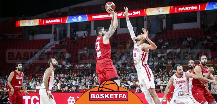 تیم ملی ایران در جام جهانی بسکتبال