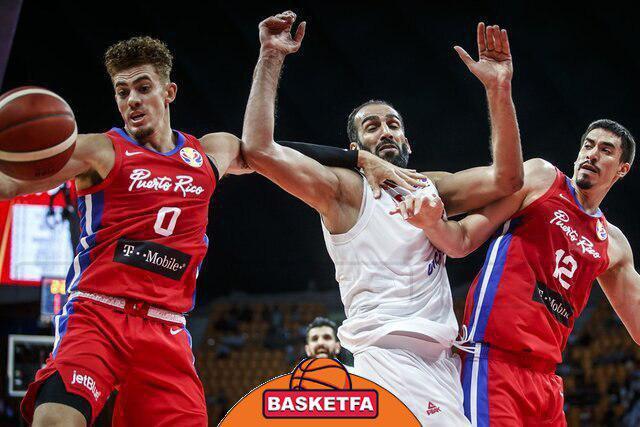 جام جهانی بسکتبال چبن -تیم ملی بسکتبال ایران