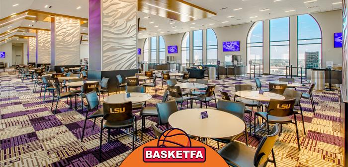 امکانات رفاهی سالن های بسکتبال برای راحتی تماشاگران مهم است