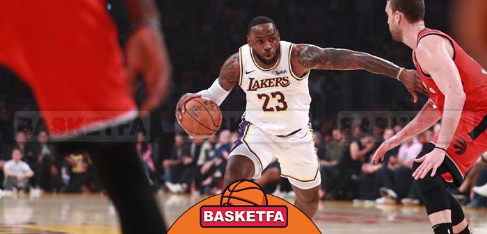 بسکتبال NBA لبران جیمز