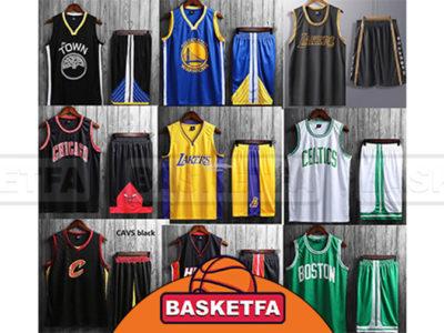 لباس های ورزشی بازیکنان بسکتبال