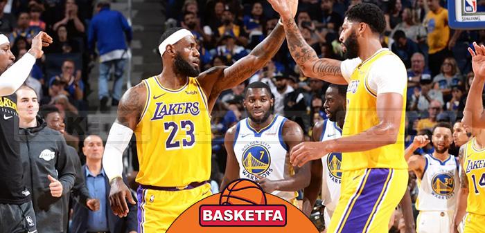 بسکتبال NBA لبران جیمز آنتونی دیویس