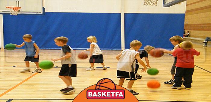 آموزش بسکتبال