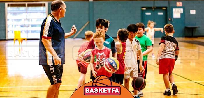 آموزش بسکتبال کودکان