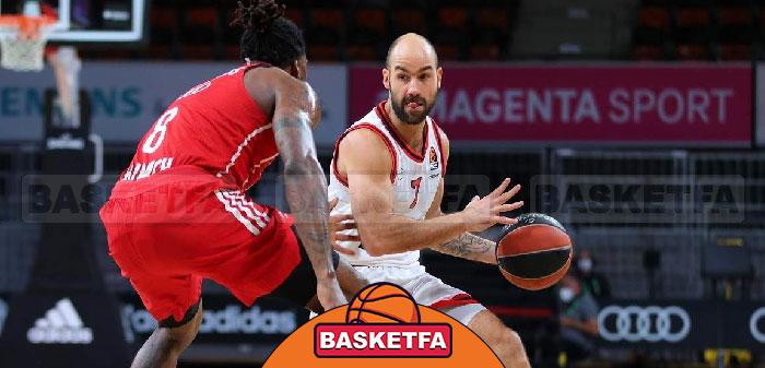 بایرن مونیخ المپیاکوس بسکتبال یورو لیگ ۲۰۲۰