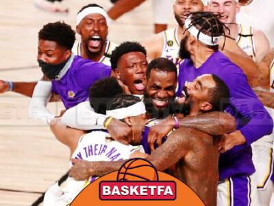 قهرمانی لس آنجلس لیکرز بسکتبال NBA