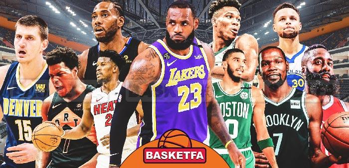 جدول-رده-بندی-NBA-2021