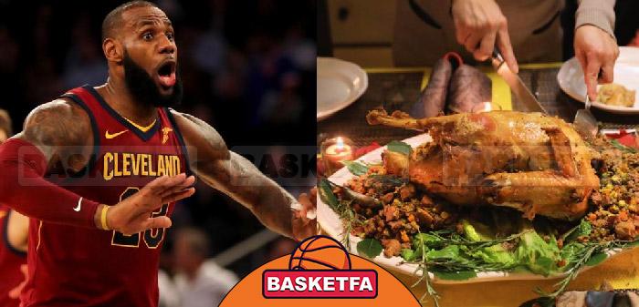 تغذیه بازیکنان بسکتبال
